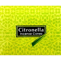 Kamini Cones CITRONELLA BOX of 12 Packets