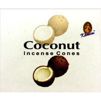 Kamini Incense Cones COCONUT BOX of 12 Packets