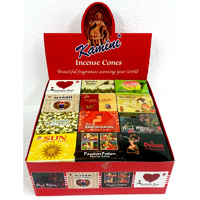Kamini Incense Cones DISPLAY No. 2 Red