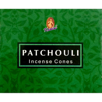 Kamini Incense Cones PATCHOULI BOX of 12 Packets