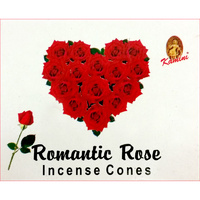 Kamini Incense Cones ROMANTIC ROSE Single Packet
