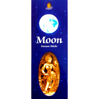 Kamini Incense Hex MOON 20 stick BOX of 6 Packets