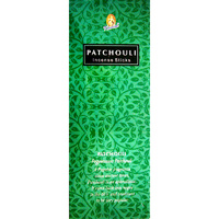 Kamini Incense Hex PATCHOULI 20 stick BOX of 6 Packets