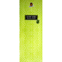 Kamini Incense Square ALOE VERA 8 stick BOX of 25 Packets