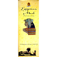 Kamini Incense Square EGYPTIAN MUSK 8 stick BOX of 25 Packets