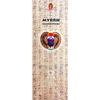 Kamini Incense Square MYRRH 8 stick BOX of 25 Packets