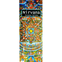 Kamini Incense Square NIRVANA Masala 8 stick BOX of 25 Packets