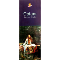 Kamini Incense Square OPIUM 8 stick BOX of 25 Packets