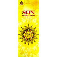 Kamini Incense Square SUN 8 stick BOX of 25 Packets