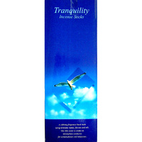 Kamini Incense Square TRANQUILITY 8 stick BOX of 25 Packets