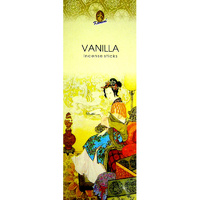 Kamini Incense Square VANILLA 8 stick BOX of 25 Packets