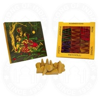 Namaste Natural Incense Cones VARIETY PACK Box of 6 Packets
