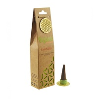 ORGANIC Goodness Incense Cones Cannabis with Ceramic Holder