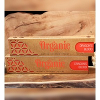 ORGANIC Goodness Masala Incense DRAGON'S BLOOD 15g BOX of 12 Packets