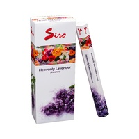 Siro Incense Hex HEAVENLY LAVENDER 20 stick BOX of 6 Packets