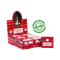Satya Cones DRAGONS BLOOD BOX of 12 Packets