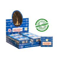 Satya Cones NAG CHAMPA BOX of 12 Packets
