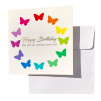 Triskele Arts Cards BIRTHDAY BUTTERFLIES