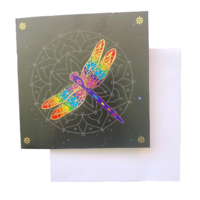 Triskele Arts Cards GOLDEN DRAGONFLY