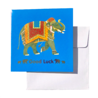Triskele Arts Cards GOOD LUCK ELEPHANT