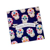 Triskele Arts Cards DAY OF THE DEAD SKULL