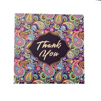 Triskele Arts Cards THANK YOU PAISLEY