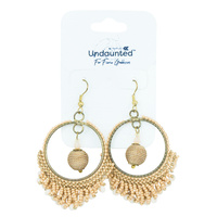 Undaunted Aurora Earrings Nude