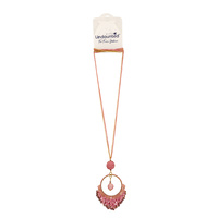 Undaunted Aurora Necklace Pink