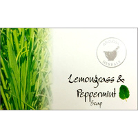 Anokha Herbals Soap LEMONGRASS PEPPERMINT BOX 12