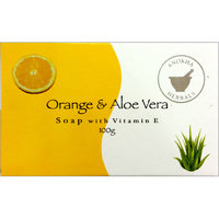Anokha Herbals Soap ORANGE & ALOE VERA BOX of 12