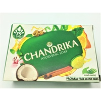Chandrika AYURVEDIC Soap 75g Single Packet