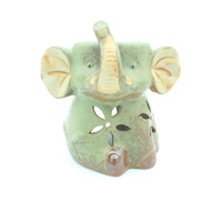 Ceramic Oil Burner LUCKY ELEPHANT