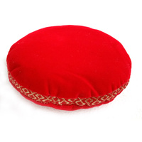 Cushion for SINGING BOWL RED VELVET Small 11cm