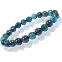 Crystal Bead Bracelet APATITE 10mm