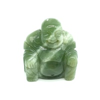 Carved Crystal BUDDHA New Jade 40mm