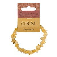 Crystal Chip Bracelet CITRINE Eco Range