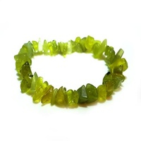 Crystal Chip Bracelet LEMON JADE