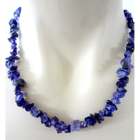 Crystal Chip Necklace AMETHYST Regular