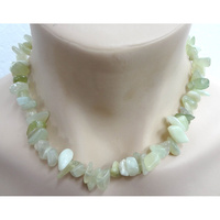 Crystal Chip Necklace NEW JADE Chunky