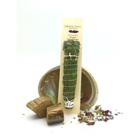 Crystal Magic Smudge PINE LAVENDER SWEETGRASS