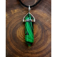 Crystal Pendant DP MALACHITE