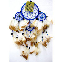 Dream Catcher BLUE BROWN Mini