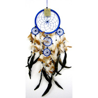 Dream Catcher BLUE BROWN Medium