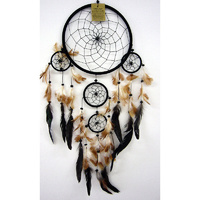 Dream Catcher BLACK BROWN Large