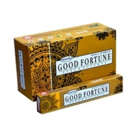 Deepika Incense Sticks GOOD FORTUNE 15g BOX of 12 Packets