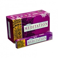Deepika Incense Sticks MEDITATION 15g BOX of 12 Packets