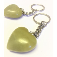 Key Chain LEMON JADE Heart