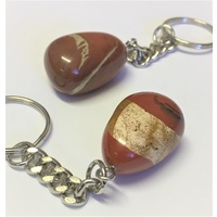 Key Chain RED JASPER nugget
