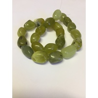 Gemstone Strand LEMON JADE Large