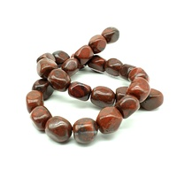 Gemstone Strand RED JASPER Large